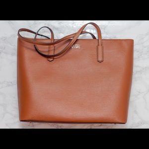 Guess vegan leather tote bag